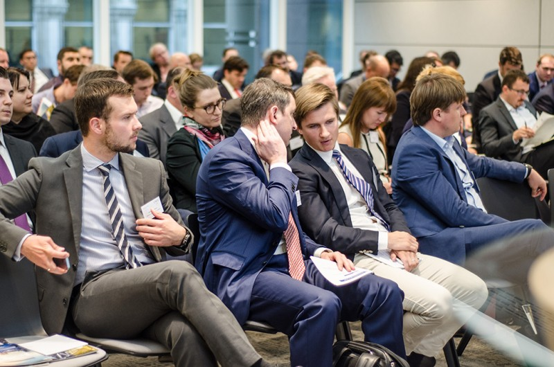 Igor Mazepa, CEO of Concorde Capital, hosted Ukrainian Investment Day in London. June 2015. Photo#12