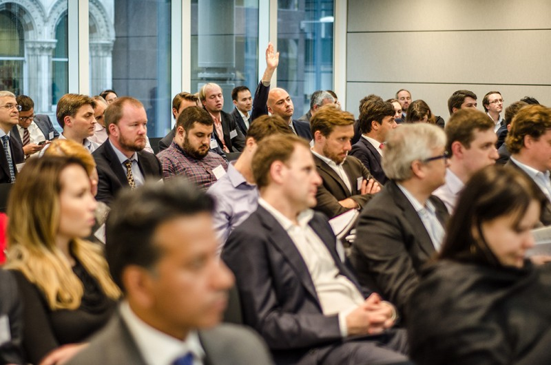 Igor Mazepa, CEO of Concorde Capital, hosted Ukrainian Investment Day in London. June 2015. Photo#13