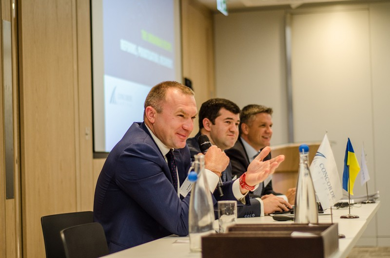 Igor Mazepa, CEO of Concorde Capital, hosted Ukrainian Investment Day in London. June 2015. Photo#15