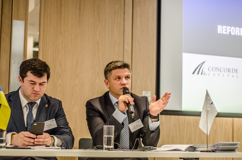 Igor Mazepa, CEO of Concorde Capital, hosted Ukrainian Investment Day in London. June 2015. Photo#19