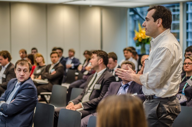 Igor Mazepa, CEO of Concorde Capital, hosted Ukrainian Investment Day in London. June 2015. Photo#2