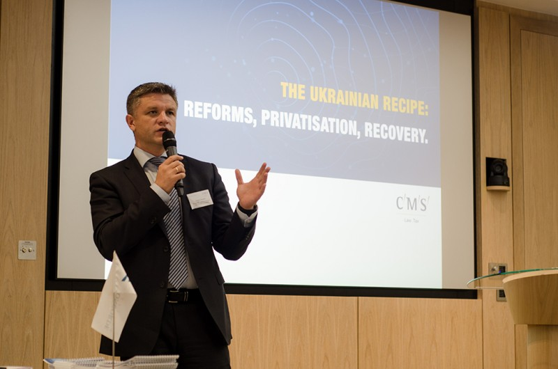 Igor Mazepa, CEO of Concorde Capital, hosted Ukrainian Investment Day in London. June 2015. Photo#20