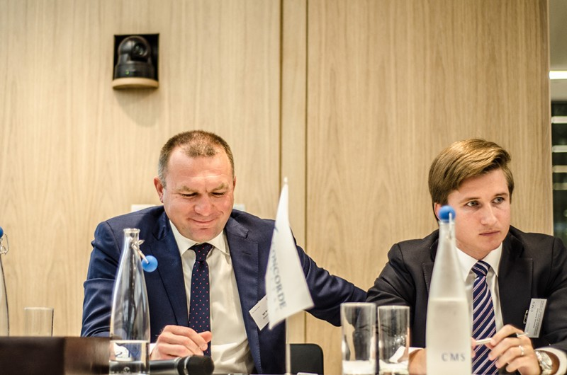 Igor Mazepa, CEO of Concorde Capital, hosted Ukrainian Investment Day in London. June 2015. Photo#3
