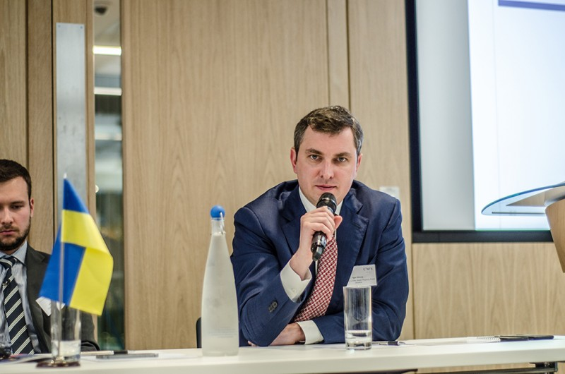 Igor Mazepa, CEO of Concorde Capital, hosted Ukrainian Investment Day in London. June 2015. Photo#4