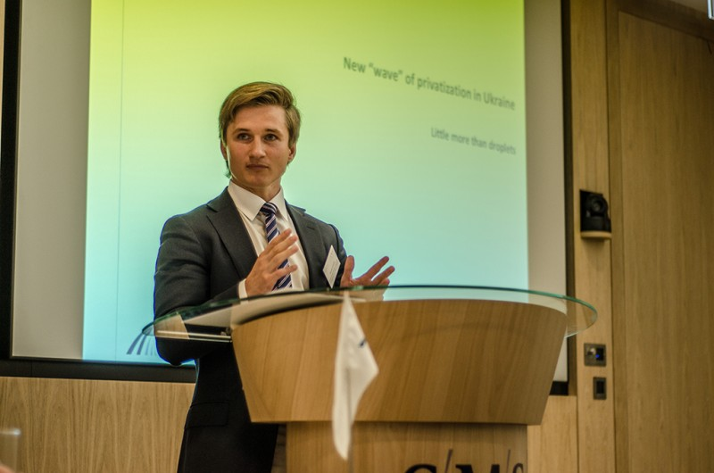 Igor Mazepa, CEO of Concorde Capital, hosted Ukrainian Investment Day in London. June 2015. Photo#7