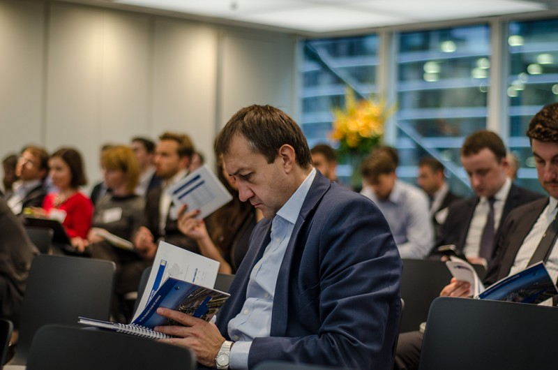 Igor Mazepa, CEO of Concorde Capital, hosted Ukrainian Investment Day in London. June 2015. Photo#8