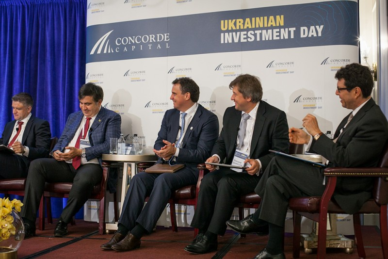 Igor Mazepa, CEO of Concorde Capital, hosted Ukrainian Investment Day in New York. June 2015. Photo#10