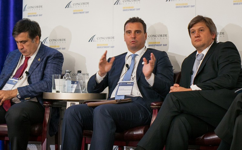 Igor Mazepa, CEO of Concorde Capital, hosted Ukrainian Investment Day in New York. June 2015. Photo#11
