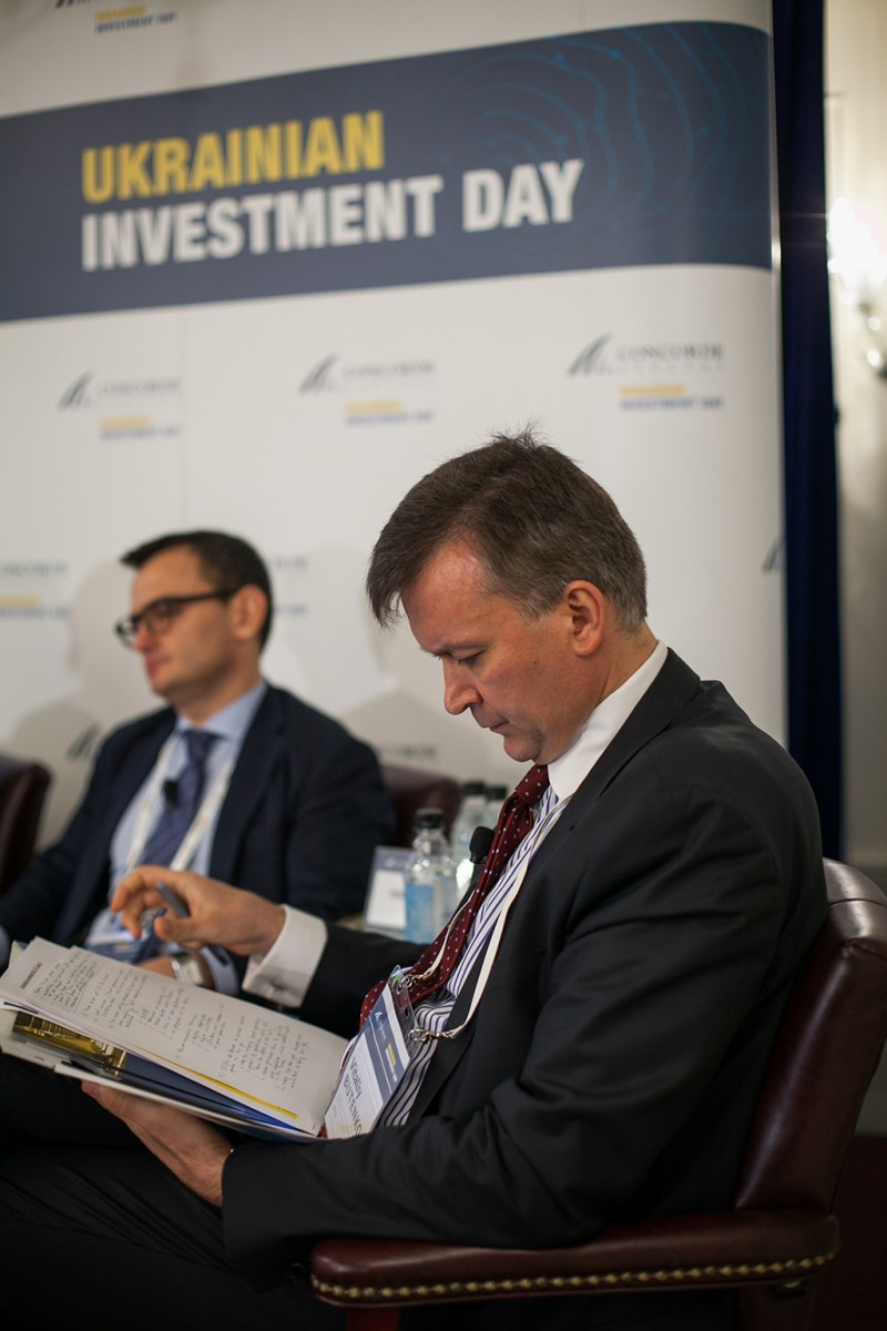 Igor Mazepa, CEO of Concorde Capital, hosted Ukrainian Investment Day in New York. June 2015. Photo#13
