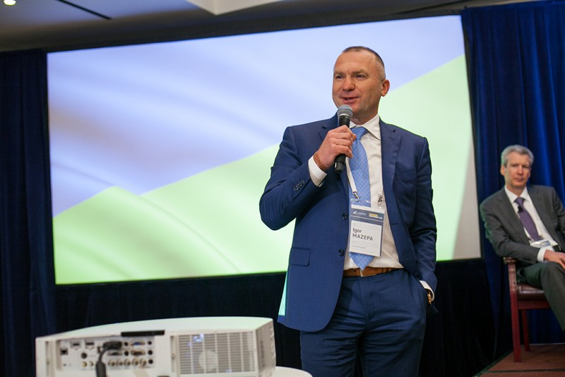 Igor Mazepa, CEO of Concorde Capital, hosted Ukrainian Investment Day in New York. June 2015. Photo#19