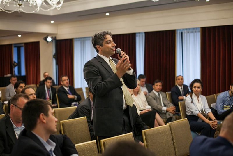 Igor Mazepa, CEO of Concorde Capital, hosted Ukrainian Investment Day in New York. June 2015. Photo#20