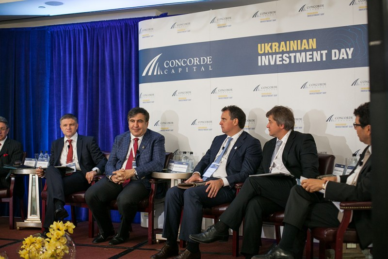 Igor Mazepa, CEO of Concorde Capital, hosted Ukrainian Investment Day in New York. June 2015. Photo#3