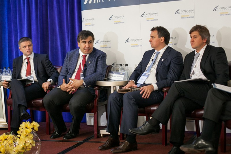 Igor Mazepa, CEO of Concorde Capital, hosted Ukrainian Investment Day in New York. June 2015. Photo#5