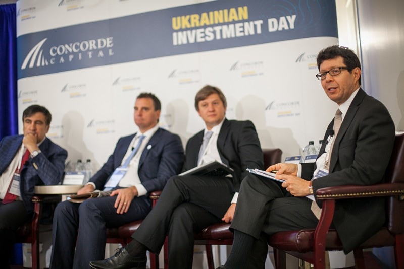 Igor Mazepa, CEO of Concorde Capital, hosted Ukrainian Investment Day in New York. June 2015. Photo#6