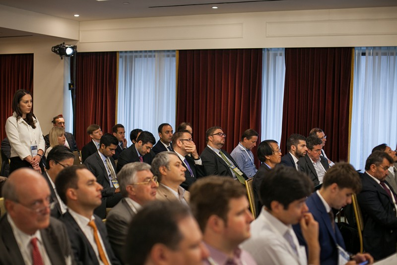 Igor Mazepa, CEO of Concorde Capital, hosted Ukrainian Investment Day in New York. June 2015. Photo#8