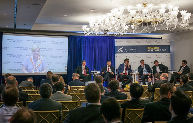 Igor Mazepa, CEO of Concorde Capital, hosted Ukrainian Investment Day in New York. June 2015. Photo#9