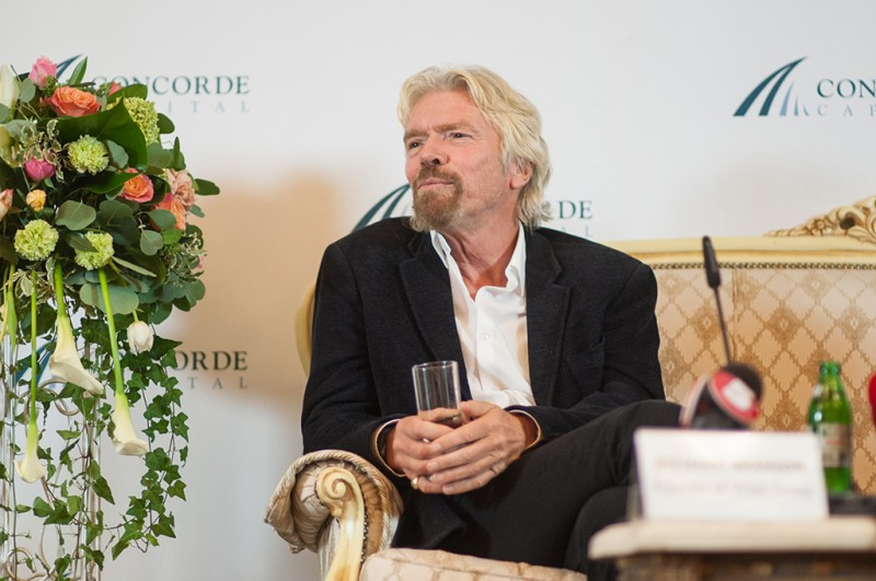 Igor Mazepa invited Richard Branson as a special guest for Concorde Capital Reception 2015. Photo#15