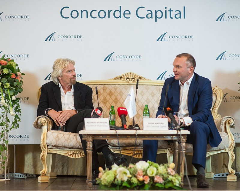 Igor Mazepa invited Richard Branson as a special guest for Concorde Capital Reception 2015. Photo#17