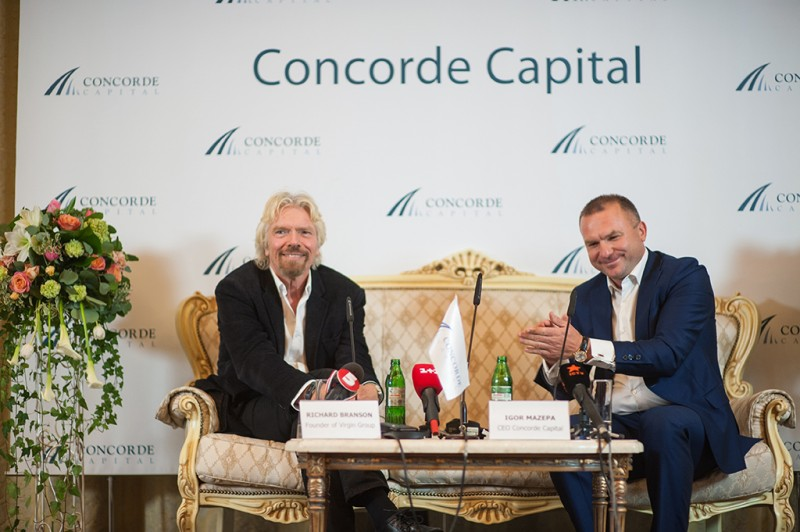 Igor Mazepa invited Richard Branson as a special guest for Concorde Capital Reception 2015. Photo#20
