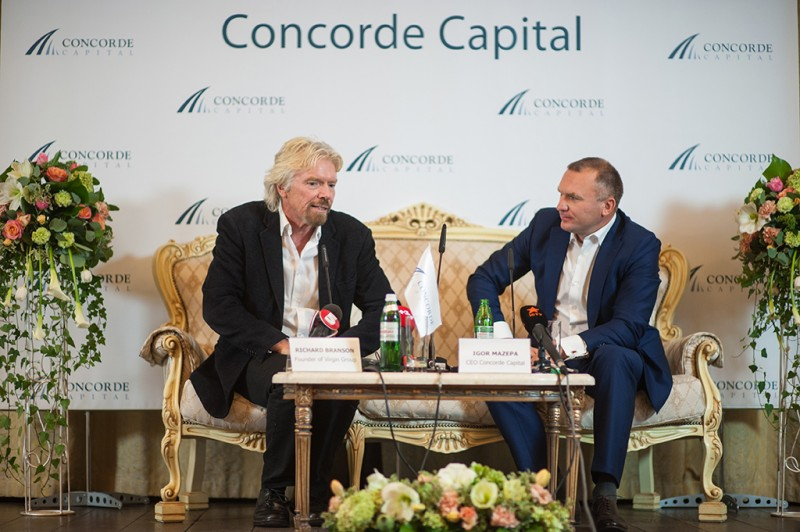 Igor Mazepa invited Richard Branson as a special guest for Concorde Capital Reception 2015. Photo#6