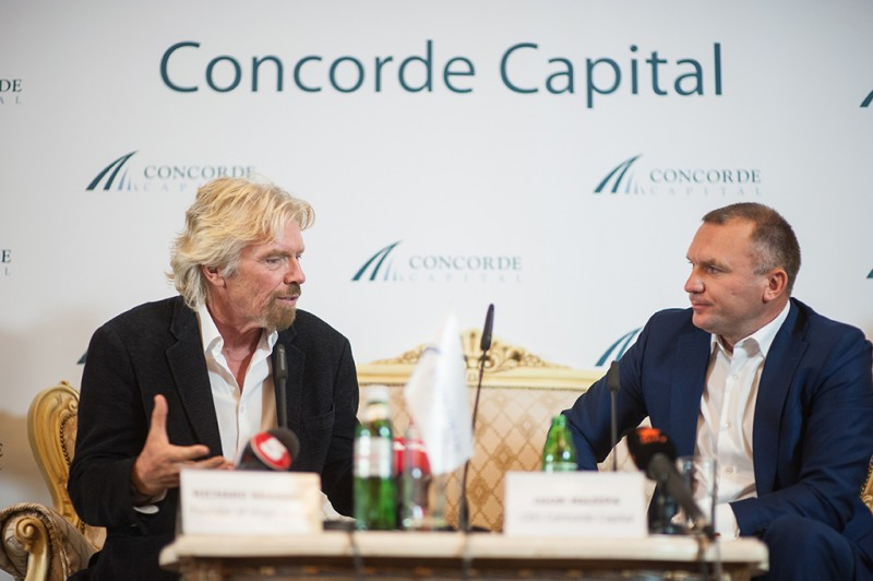 Igor Mazepa invited Richard Branson as a special guest for Concorde Capital Reception 2015. Photo#7