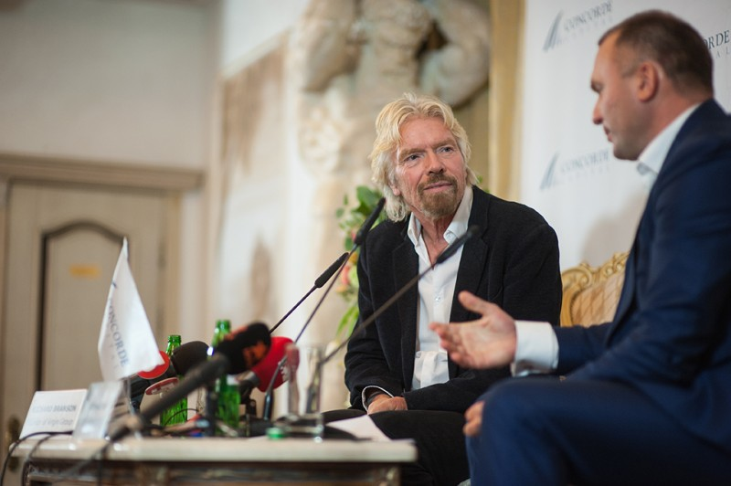 Igor Mazepa invited Richard Branson as a special guest for Concorde Capital Reception 2015. Photo#8