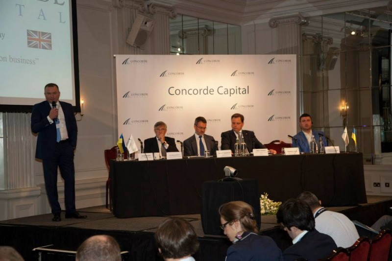 Igor Mazepa, CEO of Concorde Capital, hosted Ukrainian Investment Day in London. July 2014. Photo#4
