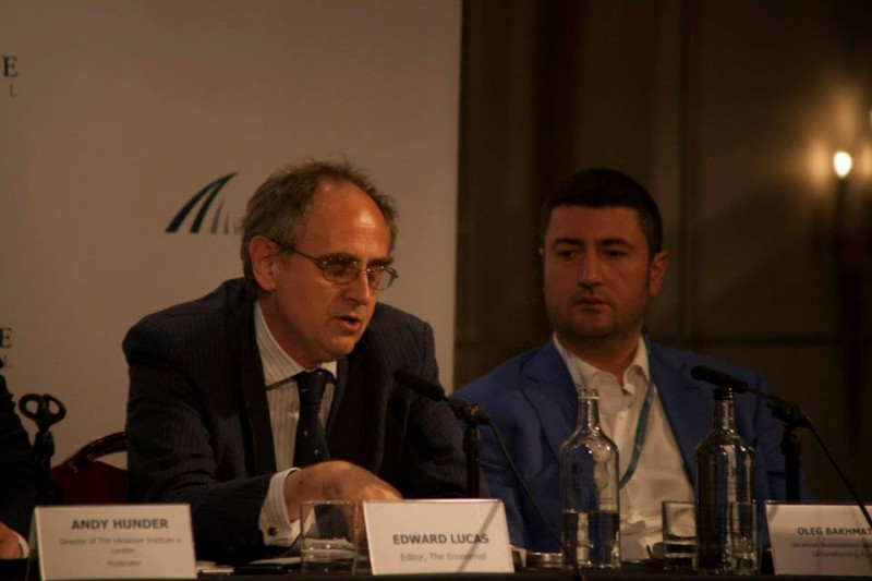 Igor Mazepa, CEO of Concorde Capital, hosted Ukrainian Investment Day in London. July 2014. Photo#5