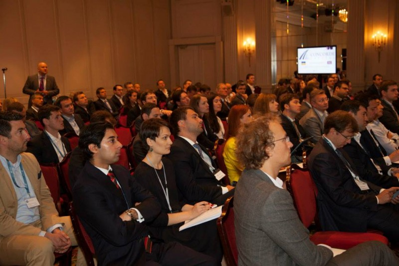 Igor Mazepa, CEO of Concorde Capital, hosted Ukrainian Investment Day in London. July 2014. Photo#6