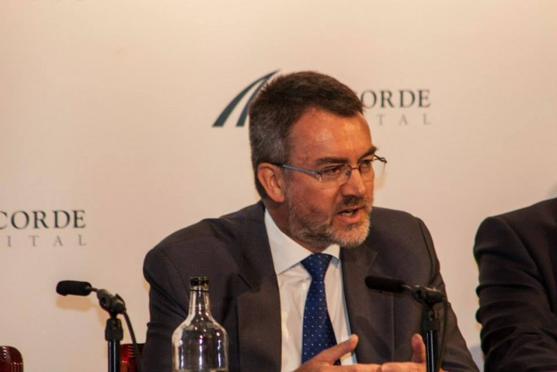 Igor Mazepa, CEO of Concorde Capital, hosted Ukrainian Investment Day in London. July 2014. Photo#7