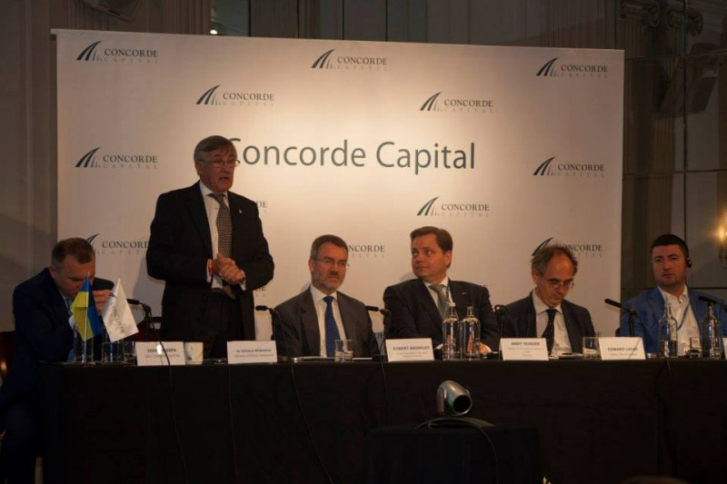 Igor Mazepa, CEO of Concorde Capital, hosted Ukrainian Investment Day in London. July 2014. Photo#8