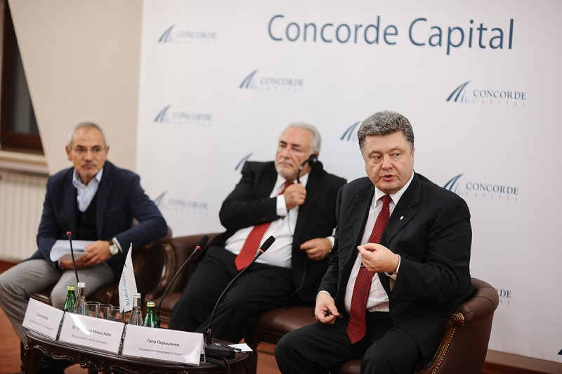 Igor Mazepa invited Dominique Strauss-Kahn as a special guest for Concorde Capital Reception 2013. Photo#14