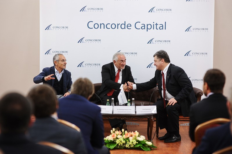 Igor Mazepa invited Dominique Strauss-Kahn as a special guest for Concorde Capital Reception 2013. Photo#17