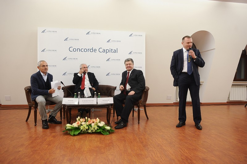 Igor Mazepa invited Dominique Strauss-Kahn as a special guest for Concorde Capital Reception 2013. Photo#6
