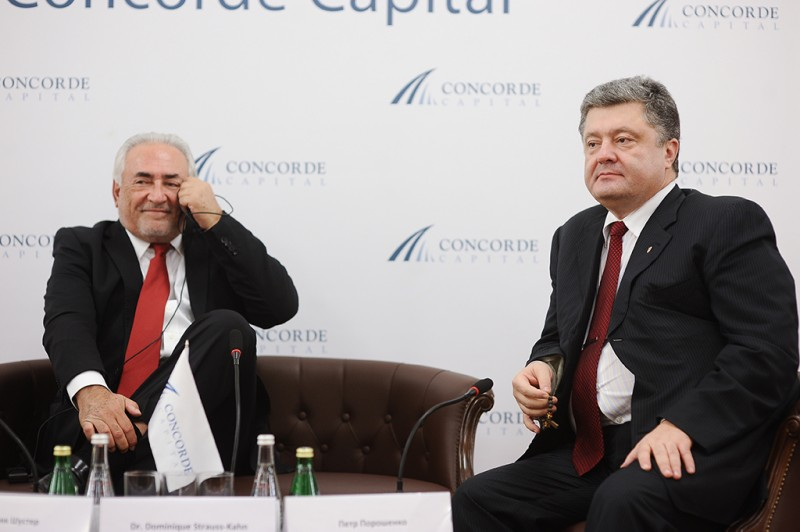 Igor Mazepa invited Dominique Strauss-Kahn as a special guest for Concorde Capital Reception 2013. Photo#7