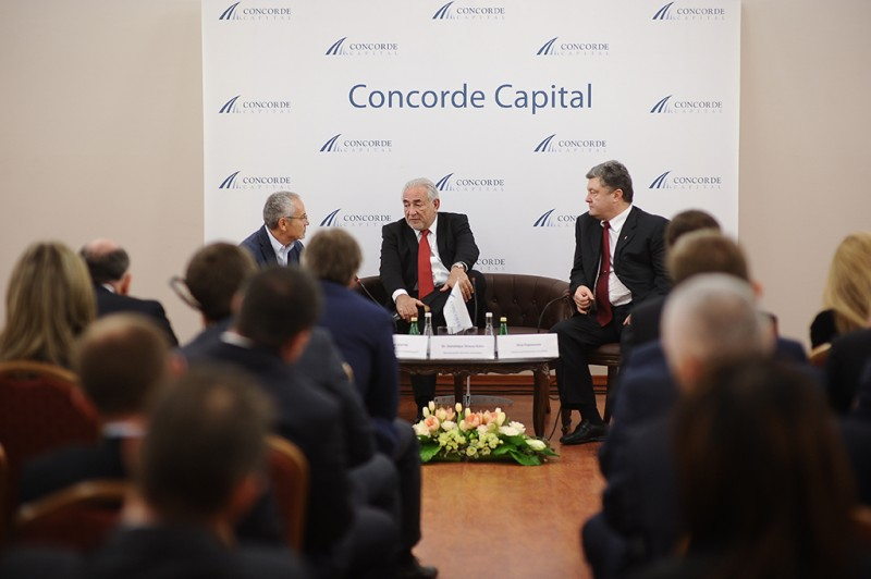 Igor Mazepa invited Dominique Strauss-Kahn as a special guest for Concorde Capital Reception 2013. Photo#9