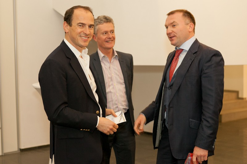 Igor Mazepa invited Lado Gurgenidze and KENZO as special guests for Concorde Capital Reception 2012. Photo