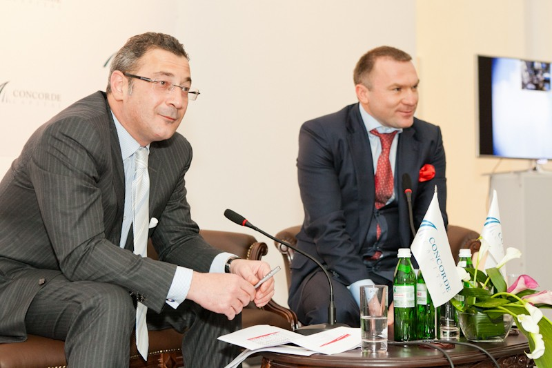 Igor Mazepa invited Lado Gurgenidze and KENZO as special guests for Concorde Capital Reception 2012. Photo#11