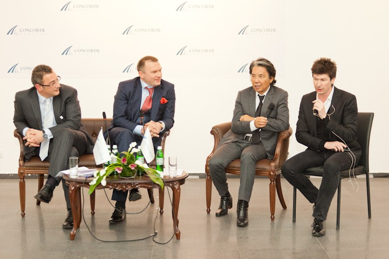 Igor Mazepa invited Lado Gurgenidze and KENZO as special guests for Concorde Capital Reception 2012. Photo#17