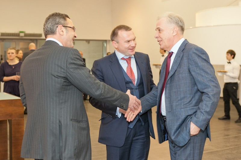 Igor Mazepa invited Lado Gurgenidze and KENZO as special guests for Concorde Capital Reception 2012. Photo#2