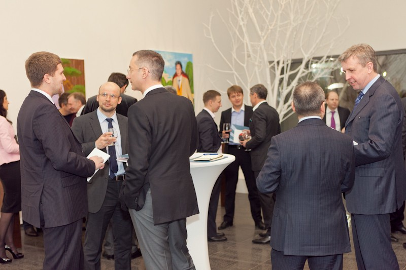 Igor Mazepa invited Lado Gurgenidze and KENZO as special guests for Concorde Capital Reception 2012. Photo#20