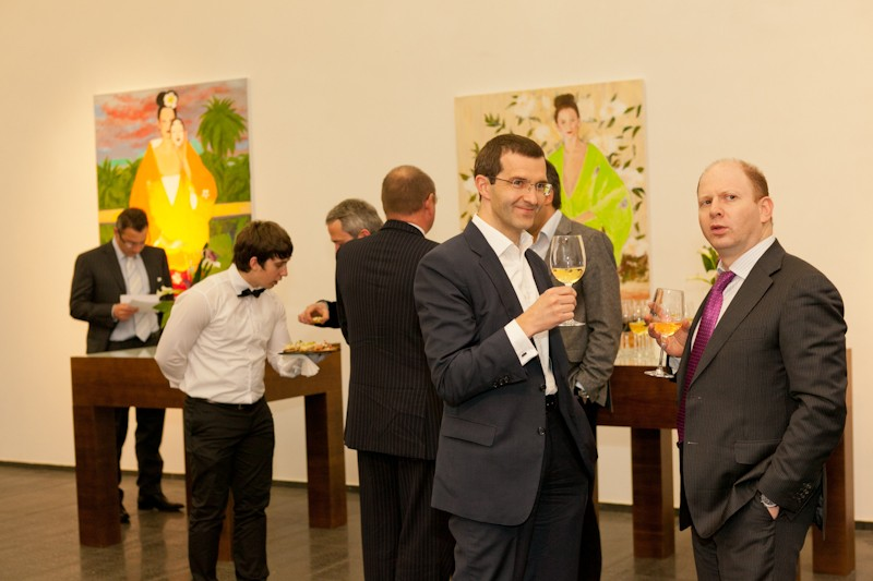 Igor Mazepa invited Lado Gurgenidze and KENZO as special guests for Concorde Capital Reception 2012. Photo#4