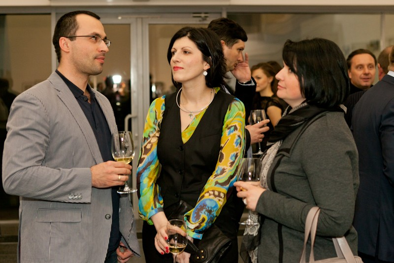Igor Mazepa invited Lado Gurgenidze and KENZO as special guests for Concorde Capital Reception 2012. Photo#6