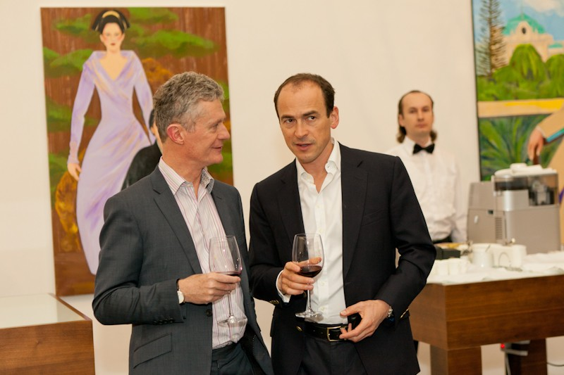 Igor Mazepa invited Lado Gurgenidze and KENZO as special guests for Concorde Capital Reception 2012. Photo#7