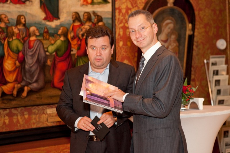 Igor Mazepa invited international Bankers from Julius Baer for Concorde Capital Reception 2011. Photo#13