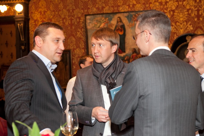 Igor Mazepa invited international Bankers from Julius Baer for Concorde Capital Reception 2011. Photo#14