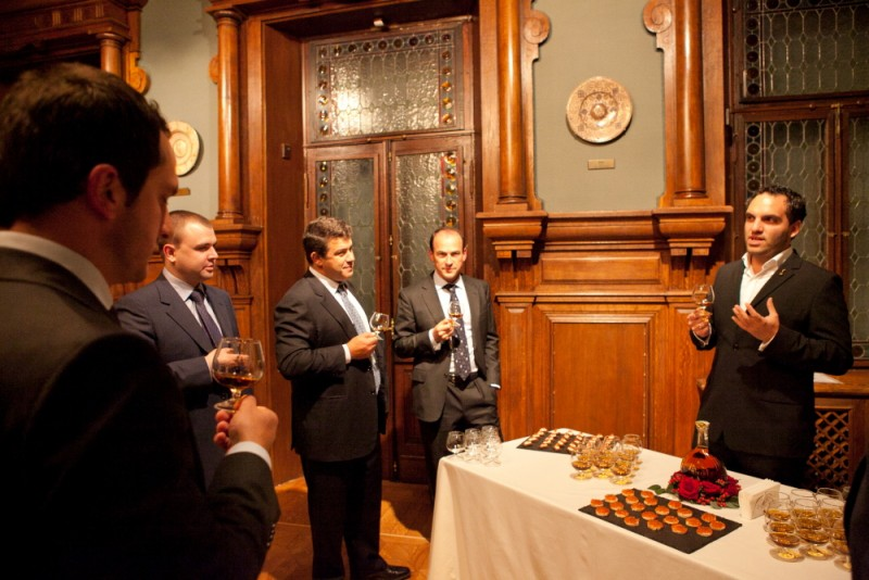 Igor Mazepa invited international Bankers from Julius Baer for Concorde Capital Reception 2011. Photo#19