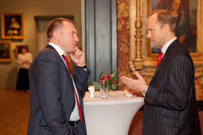 Igor Mazepa invited international Bankers from Julius Baer for Concorde Capital Reception 2011. Photo#2