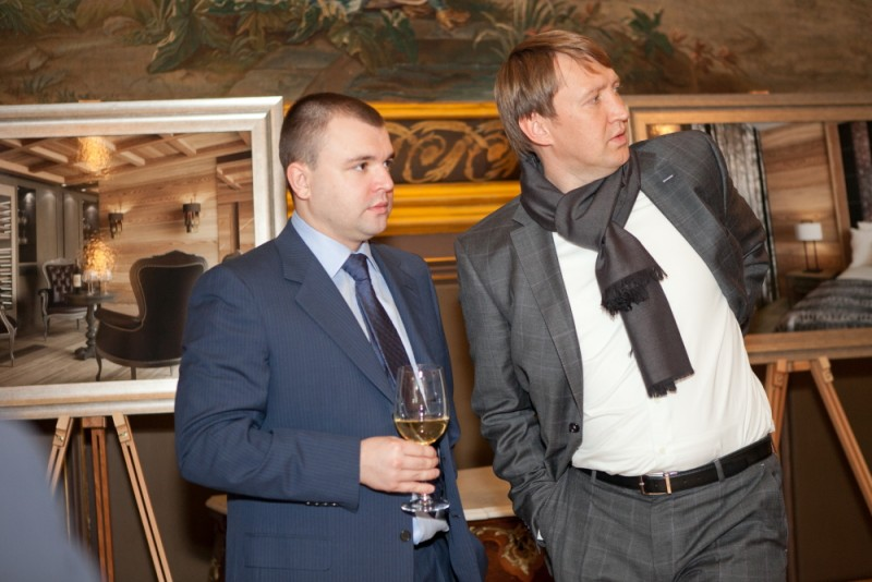 Igor Mazepa invited international Bankers from Julius Baer for Concorde Capital Reception 2011. Photo#4