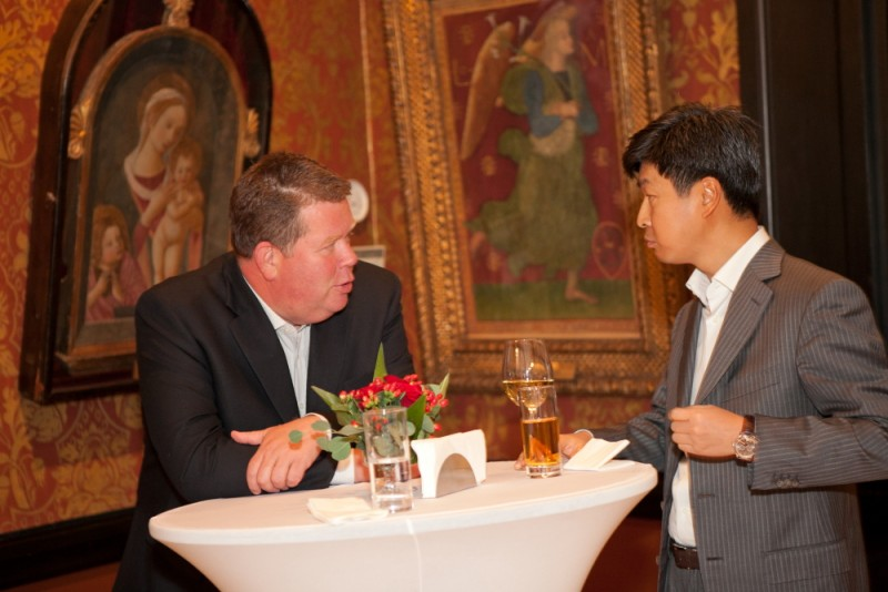 Igor Mazepa invited international Bankers from Julius Baer for Concorde Capital Reception 2011. Photo#5